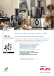 Philips Walita Avance Collection Food processor RI7778/01
