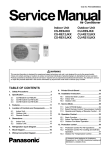 Panasonic CU-RE9JKX air conditioner