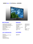 Sansui SLED3200 LED TV