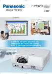 Panasonic PT-TW231RU data projector