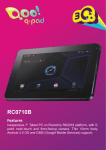 3Q Q-pad RC0710B tablet
