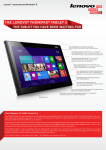 Lenovo ThinkPad Tablet 2 64GB Black