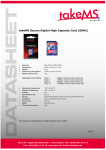 takeMS 8GB SDHC Card