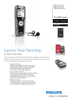 Philips Voice Tracer digital recorder DVT5500