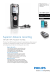 Philips Voice Tracer digital recorder DVT5000