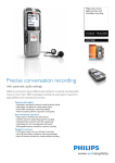 Philips Voice Tracer digital recorder DVT3000
