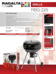 Ragalta RBQ-225 barbecue