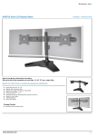Digitus DA-90322 flat panel desk mount