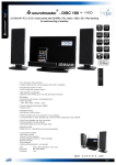 Soundmaster DISC 180 home audio set