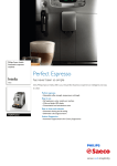 Saeco Saeco HD8752/22 coffee maker