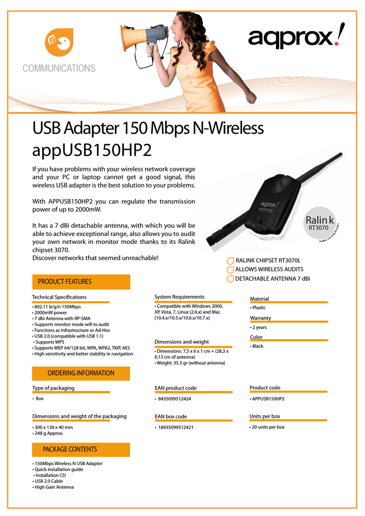 Approx appUSB150HP2
