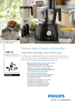 Philips Avance Collection HR7776/90 food processor