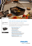 Philips Avance Collection Table grill HD6360/20