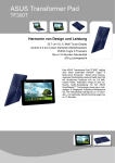 ASUS Transformer Pad TF300T 32GB Blue