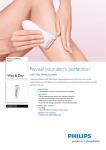 Philips SatinPerfect Epilator HP6575/00