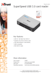Trust SuperSpeed USB 3.0 card reader
