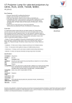 V7 Projector Lamp for selected projectors by GEHA, PLUS, ACER, TAXAN, NOBO,