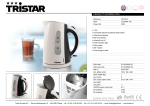 Tristar WK-3215 electrical kettle