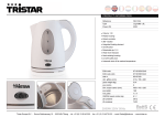 Tristar WK-1324 electrical kettle