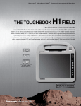 Panasonic Toughbook CF-H1 64GB White