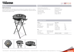 Tristar PZ-2974 cooking pan