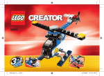 Lego Creator Mini Helicopter 52pc(s)