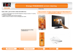 T'nB NEECORANGE equipment cleansing kit