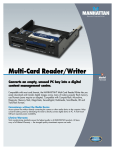 Manhattan 700344 card reader