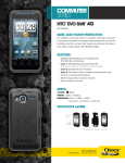 Otterbox HTC EVO Shift Commuter Series Case