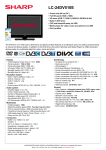 Sharp LC-24DV510E LED TV