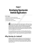 For Dummies Android Application Development