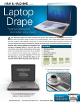 Man & Machine DRAPE17W notebook accessory