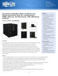 Tripp Lite SmartOnline 200-240V, 16kVA 14.4kW On-Line Double-Conversion UPS, N+1, Extended Run, SNMP, Webcard, 12U Rack/Tower, USB, DB9 Serial, Hardwire