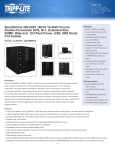 Tripp Lite SmartOnline 200-240V 16kVA 14.4kW On-Line Double-Conversion UPS, N+1, Extended Run, SNMP, Webcard, 12U Rack/Tower, USB, DB9 Serial, C19 Outlets