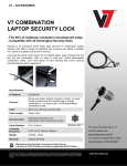 V7 SLC500-8N cable lock