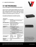 V7 NS1142-N6 network switch