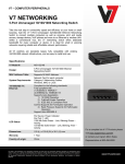V7 NS1132-N6 network switch