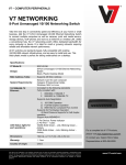 V7 NS0142-N6 network switch