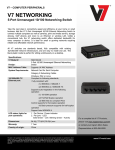 V7 NS0132-N6 network switch