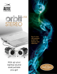Altec Lansing iML247 Stereo Orbit USB