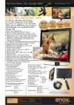 Enox BFL-0622LED-MP4 LED TV