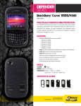 Otterbox BlackBerry Curve 8500/9300 Defender Series Case