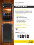 Otterbox BlackBerry Storm2 Commuter Series Case