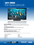 "Panasonic TC-L42E30 42"" Full HD Wi-Fi LED TV"