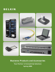 Belkin F1DH102L KVM switch