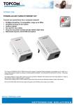 Topcom Powerlan 285 Turbo ethernet kit