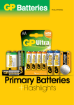GP Batteries Ultra Alkaline 14AU U2
