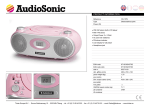 AudioSonic CD-1579