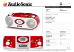 AudioSonic CD-1577