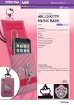 Cellular Line HELLOKITTYMBAG6 mobile phone case